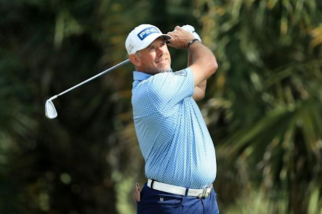 "England's Lee Westwood, a 10-time player for Europe in the Ryder Cup, says spectators are ""essential"" to staging the US-Europe golf showdown despite fears it will be played before empty stands in September due to the coronavirus pandemic (AFP Photo/SAM GREENWOOD)"