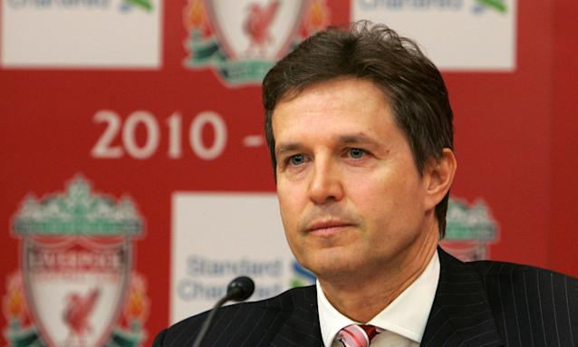Christian Purslow, Aston Villa's new chief executive, in his Liverpool days.