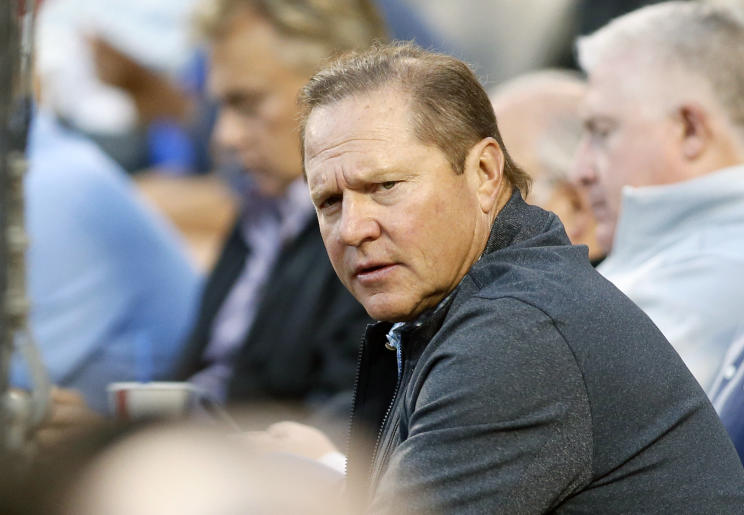 Super agent Scott Boras now holds most of the cards in MLB free agency. (AP)