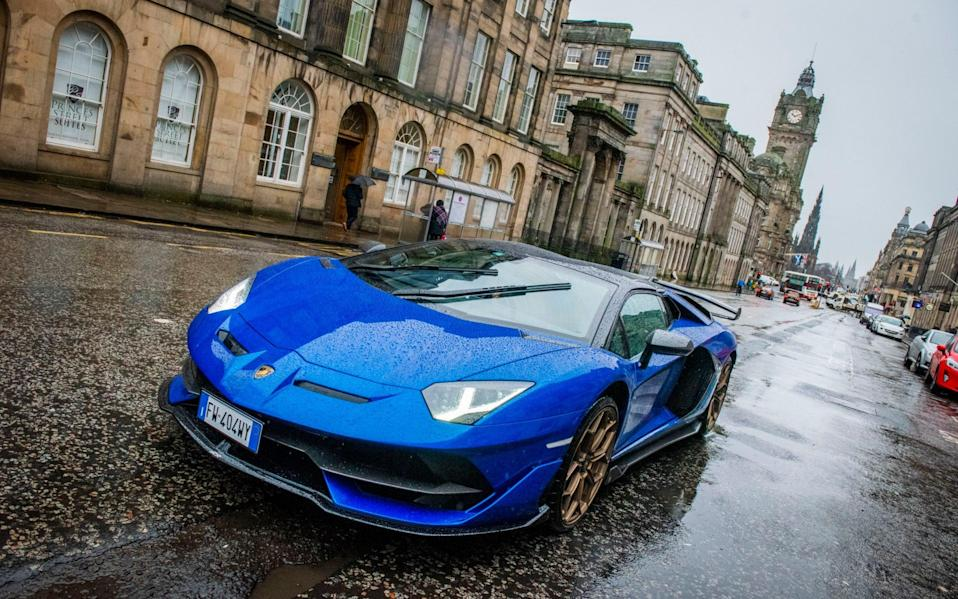 People are splashing out on luxury cars such as the Lamborghini Aventador - Chris Watt Photography