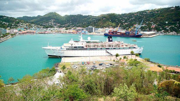 Scientology measles ship docks in Curacao