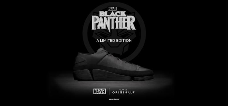 27e01ac8370 Marvel Teams Up With Clarks to Launch Special  Black Panther  Sneakers