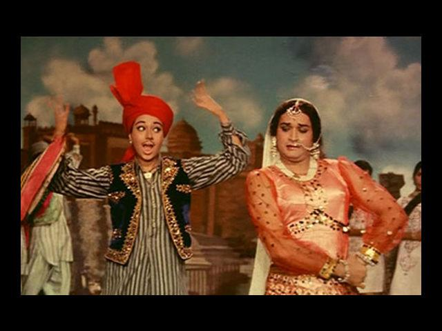 <b>8. Biswajit</b><br>Maybe the name won't ring a bell, but remember the catchy number 'Kajra Mohabbat Wala'? The hugely popular 60s song from the movie 'Kismat' had this Bengali actor playing a cameo. As he danced to the song as a girl, trying to evade a villain – the audience did not even require a female lead dancer to remember this song by! Funnily, the boy in the song was played by a girl.