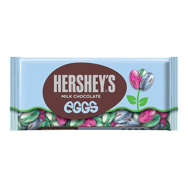 """<p><strong>HERSHEY'S</strong></p><p>amazon.com</p><p><strong>$23.99</strong></p><p><a href=""""https://www.amazon.com/dp/B0047411OE?tag=syn-yahoo-20&ascsubtag=%5Bartid%7C10070.g.2201%5Bsrc%7Cyahoo-us"""" rel=""""nofollow noopener"""" target=""""_blank"""" data-ylk=""""slk:Shop Now"""" class=""""link rapid-noclick-resp"""">Shop Now</a></p><p>Sure, there are a lot of chocolate eggs on this list, but it's Easter. You can never have enough!</p>"""