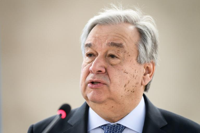 UN Secretary General Antonio Guterres will likely re-state four key demands on September 23, 2019: quit new coal by 2020, achieve carbon neutrality by 2050, deliver enhanced climate plans next year and end fossil fuel subsidies (AFP Photo/Fabrice COFFRINI)