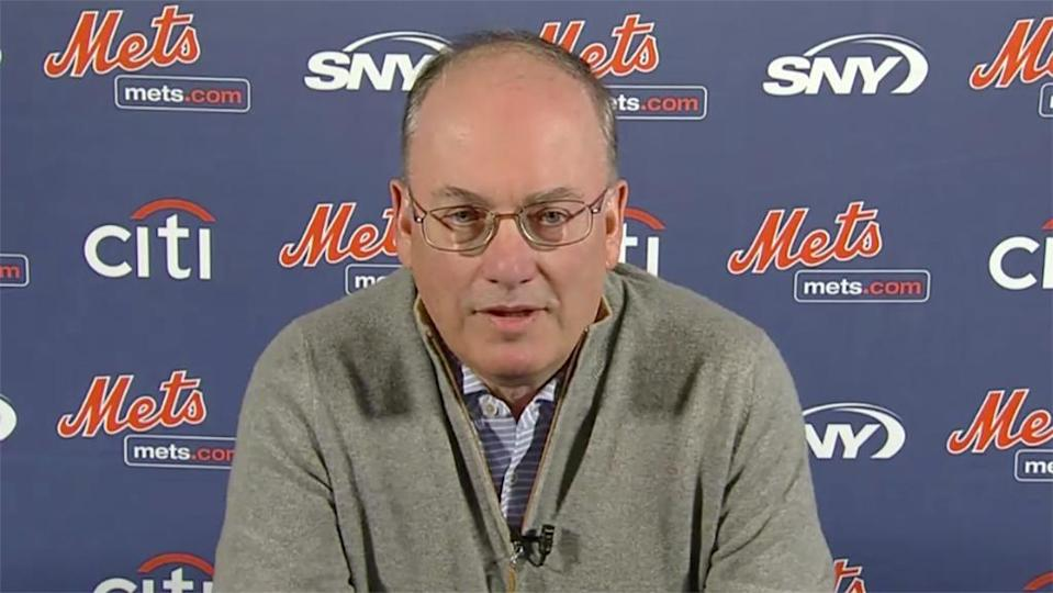 Steve Cohen during introductory news conference