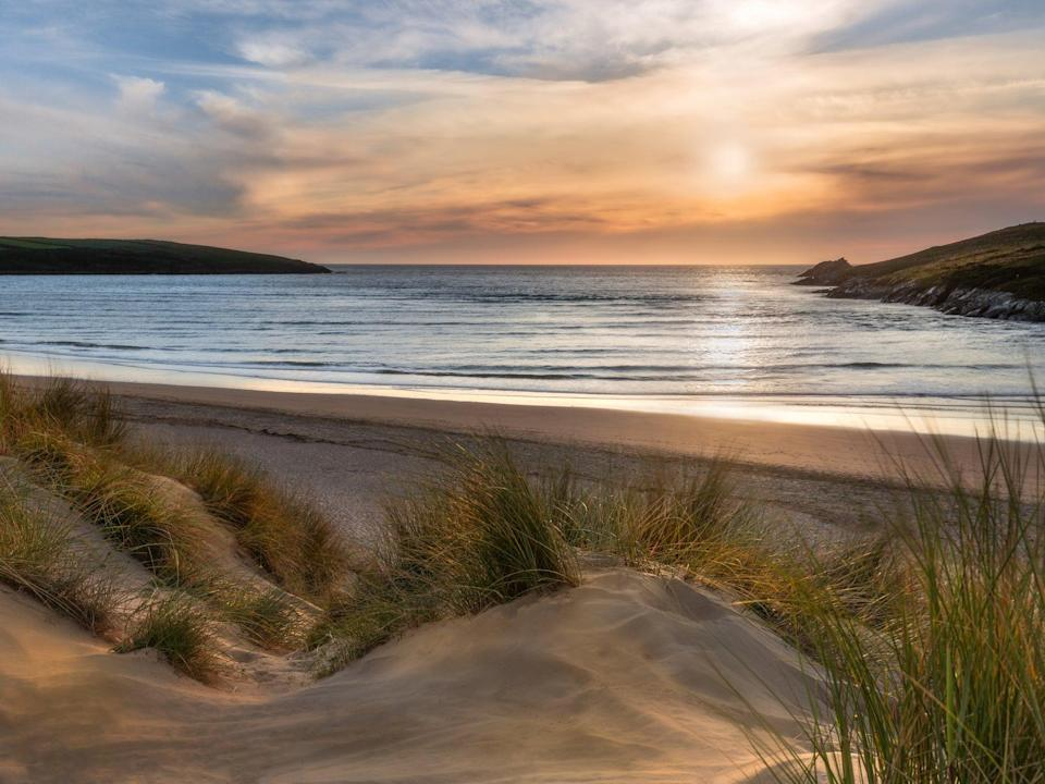 Crantock Beach on the Cornish coast (Getty/iStock)