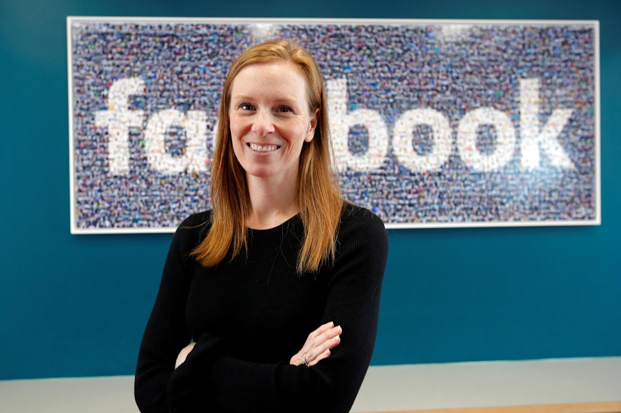 Monika Bickert, Facebook's head of global policy management poses before attending a content summit at France's Facebook headquarters in Paris, France, May 15, 2018. (Photo: REUTERS/Charles Platiau)