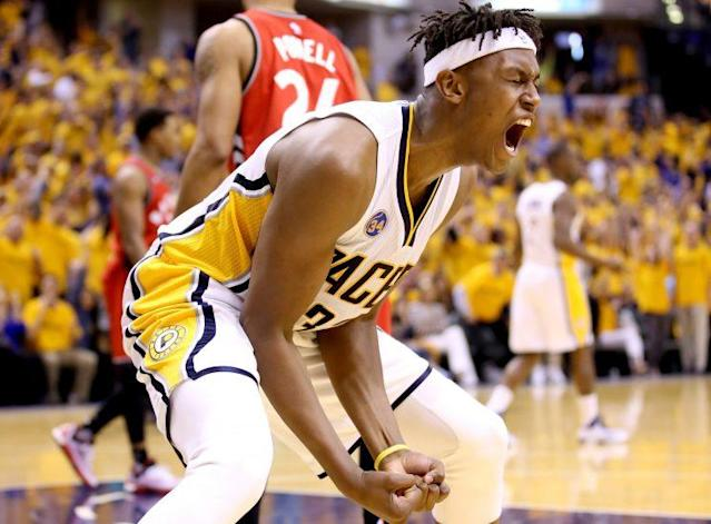 Myles Turner could emerge as a star this season. (Getty Images)