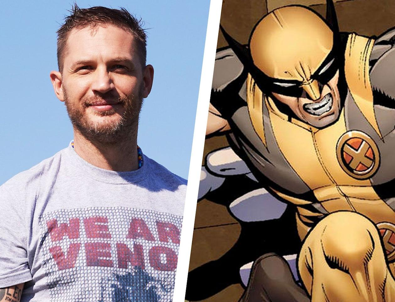 """<p>Tom Hardy may already have a few superhero roles under his belt—he played the villainous Bane in Christopher Nolan's <em>The Dark Knight Rises</em>, and his campy take on <em>Venom</em> last year was actually a lot of fun—but what's one more? He was actually <a href=""""https://www.digitalspy.com/movies/a27677892/x-men-tom-hardy-richard-madden-new-wolverine/"""" target=""""_blank"""">name-dropped</a> as a good choice for the role (along with <em>Game of Thrones </em>star Richard Madden) by <em>Dark Phoenix </em>director Simon Kinberg, raising some eyebrows for sure. <em></em><em></em></p><p>While it might get a little confusing if Venom ever actually gets <a href=""""http://collider.com/mcu-venom-rumor/"""" target=""""_blank"""">rolled into the MCU</a> (much like Tom Holland's Spider-Man did), Hardy would bring an aggressive attitude to the role, and as always, would have no reservation about fully immersing himself and disappearing into the role. Hardy is one of our best actors, and if he's excited about a project, you know it's one to look forward to.</p>"""