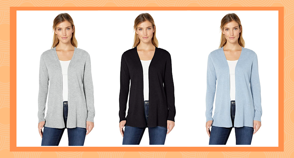 This affordable Amazon cardigan is an affordable option for fall.
