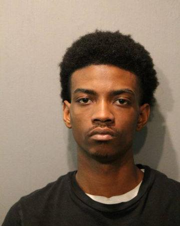 Antwan Jones, 19, of Chicago, Illinois, U.S. is pictured in this handout photo