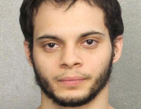 Esteban Santiago, is shown in this booking photo provided by the Broward County Sheriff's Office in Fort Lauderdale