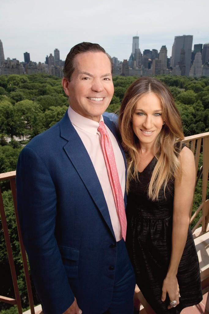 George Malkemus and Sarah Jessica Parker in 2013. - Credit: FN Archives