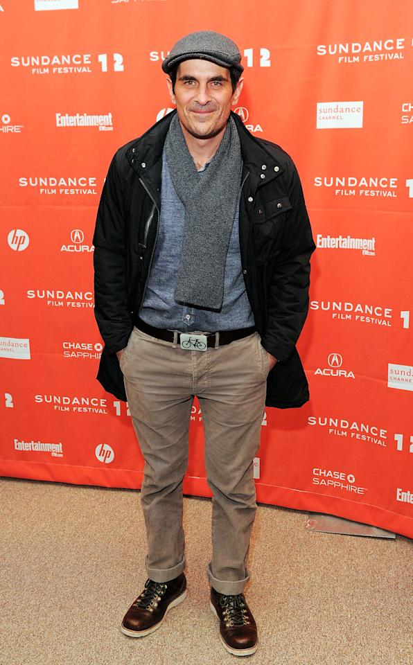 "PARK CITY, UT - JANUARY 24: Actor Ty Burrell  attends the ""GOATS"" premiere during the 2012 Sundance Film Festival held at Eccles Center Theatre on January 24, 2012 in Park City, Utah.  (Photo by Jemal Countess/Getty Images)"
