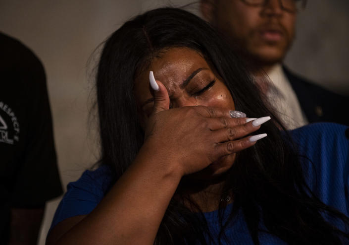 Mother of George Floyd's daughter: 'He will never see her grow up'