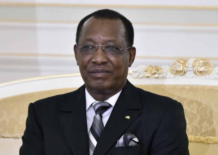 Chad's President Idriss Deby has secured control of regional operations against deadly Boko Haram Islamists (AFP Photo/Miguel Medina)