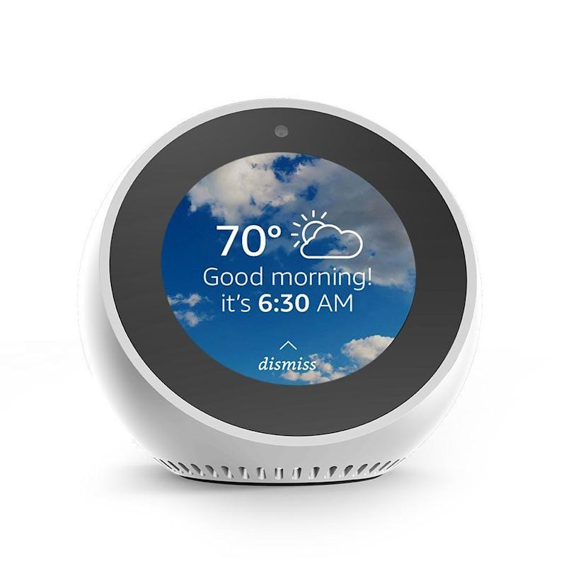 Amazon Echo Spot. (Photo: Amazon)