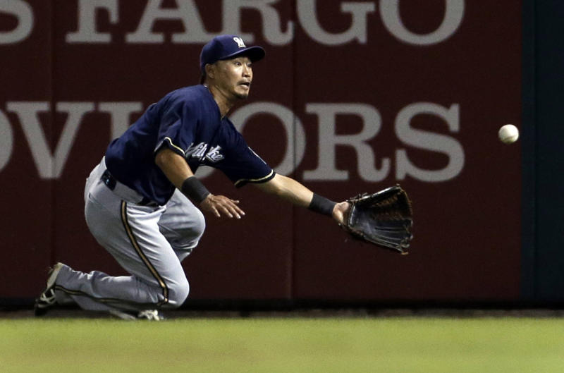 Brewers trade Aoki, likely means Braun to RF