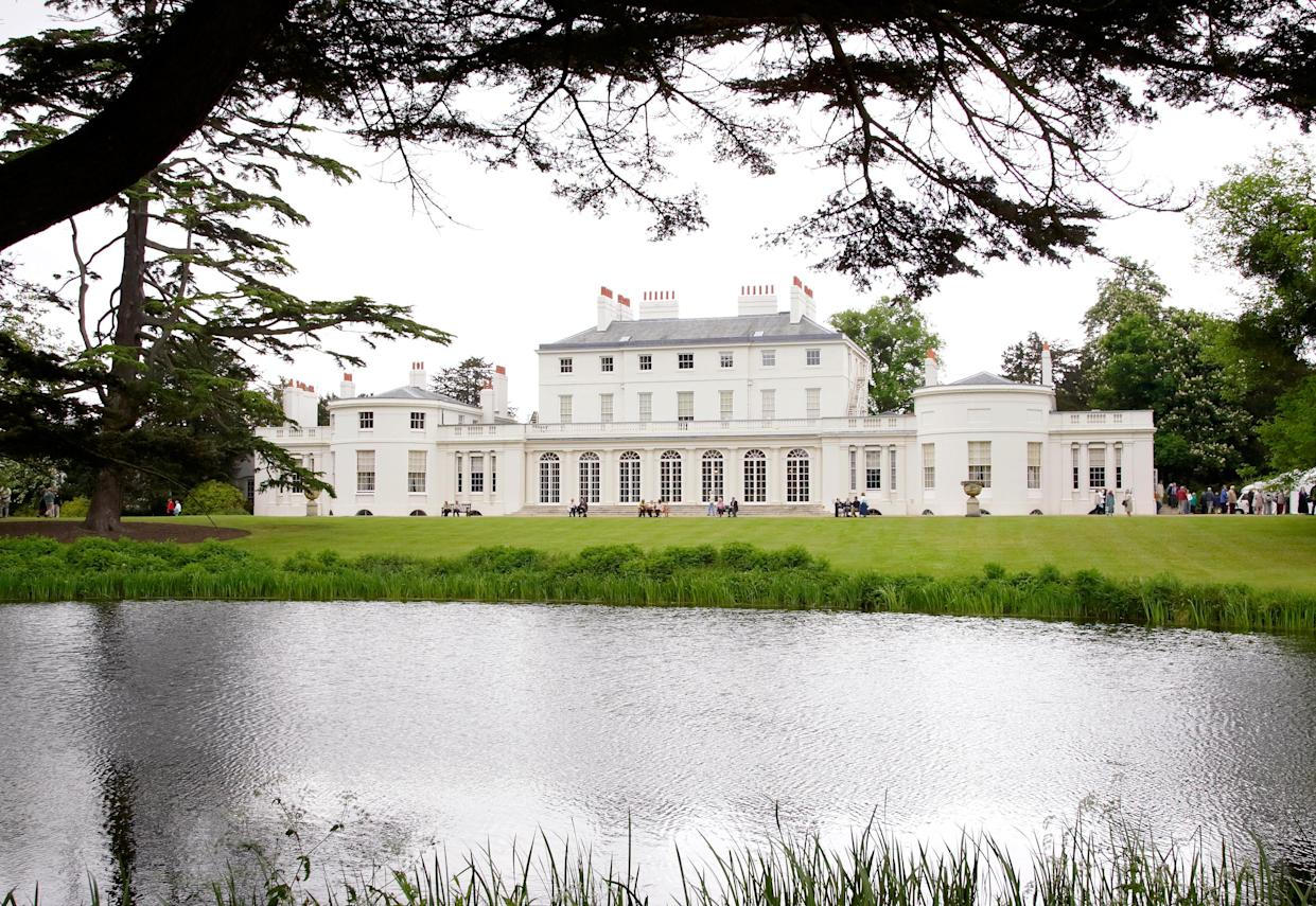 Frogmore Cottage is located within the grounds of Frogmore House, pictured here in 2006 [Photo: Getty]
