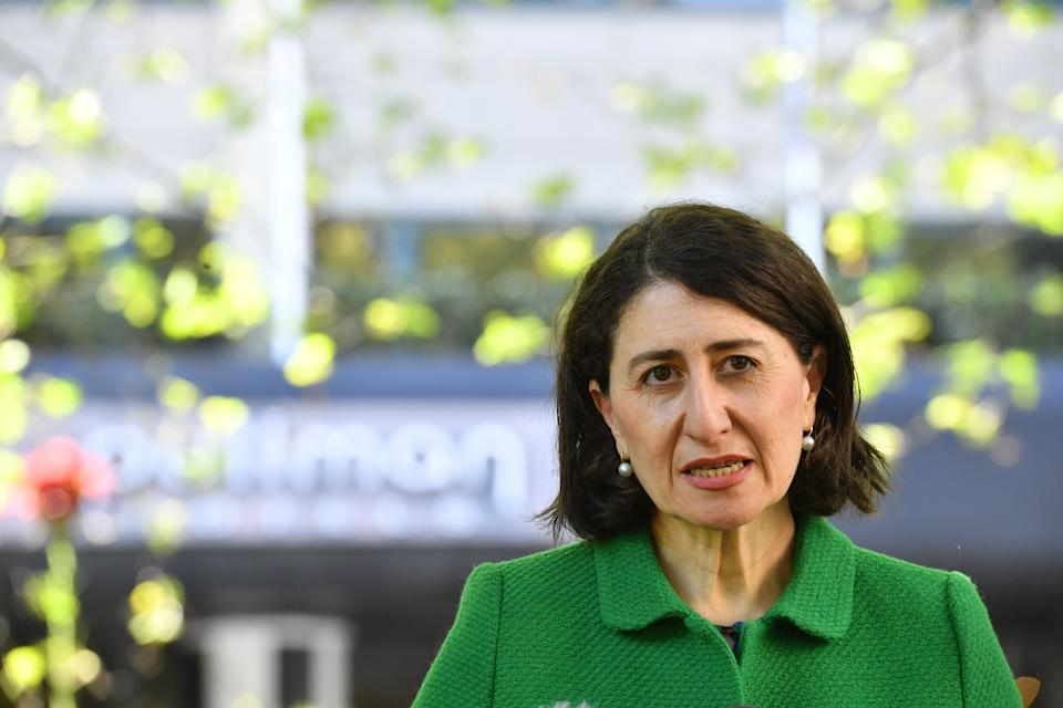NSW Premier Gladys Berejiklian says she wants to see residents able to return by Christmas. Source: AAP