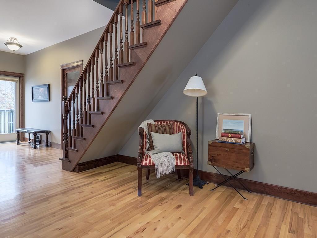 """<p><a rel=""""nofollow"""">230 24 Avenue Northeast, Calgary, Alta.</a><br /> Other parts of the home have original hardwood floors and crown moulding.<br /> (Photo: Zoocasa) </p>"""