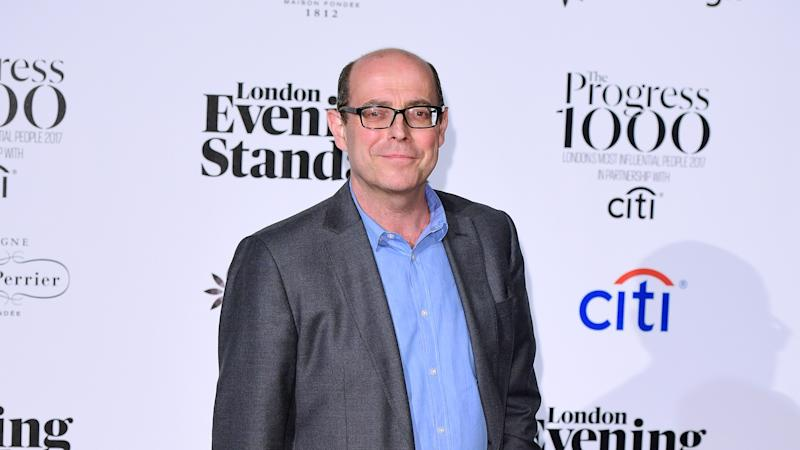 Nick Robinson self-isolating at home in coronavirus precaution