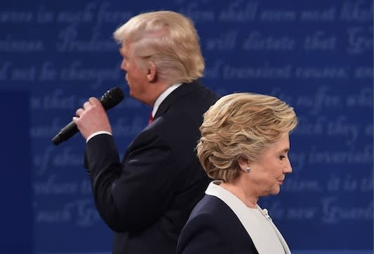 People have turned last night's debate into a hilarious meme of Trump and Hilary singing a duet