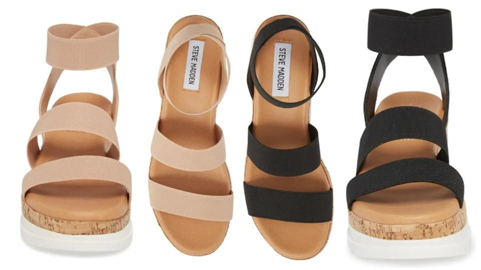 Steve Madden's Bandi Platform Wedge Sandals - Nordstrom, $50 (originally $70)