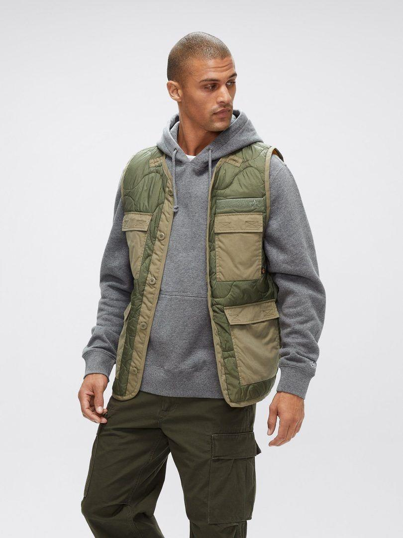 """<p><strong>Alpha Industries</strong></p><p>alphaindustries.com</p><p><strong>$100.00</strong></p><p><a href=""""https://go.redirectingat.com?id=74968X1596630&url=https%3A%2F%2Fwww.alphaindustries.com%2Fcollections%2Fmens-fall-winter-2020%2Fproducts%2Fmja50501c1-als-utility-vest&sref=https%3A%2F%2Fwww.seventeen.com%2Flife%2Ffriends-family%2Fg1088%2Fholiday-gifts-for-dad%2F"""" rel=""""nofollow noopener"""" target=""""_blank"""" data-ylk=""""slk:Shop Now"""" class=""""link rapid-noclick-resp"""">Shop Now</a></p><p>Functional and fashionable – this quilted vest checks both of Dad's most important boxes. </p>"""