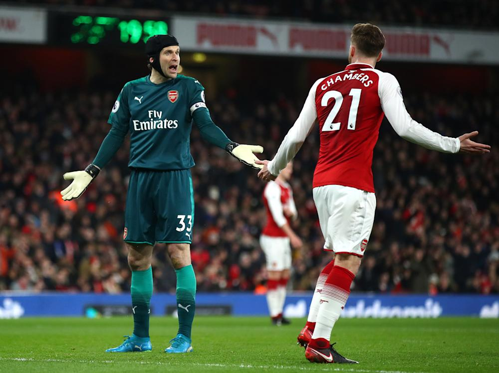 Against Chelsea, Arsenal's defending was as bad as ever: Getty