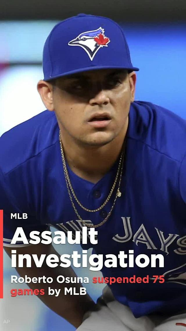 Roberto Osuna hasn't pitched for the Blue Jays since May 6, and now it looks like he'll have to wait a lot longer.
