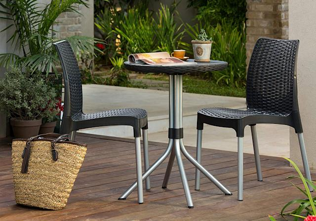 Keter Chelsea Patio Bistro Dining Set