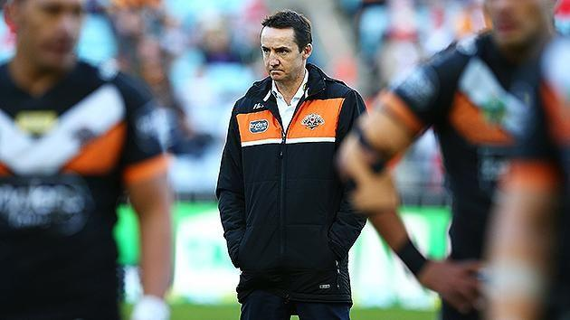 A forlorn-looking Taylor following loss to Raiders. Pic: Getty
