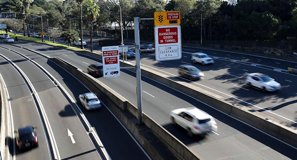 A mother from NSW incurred more than $30,000 debt for not paying her toll fine. Source: AAP