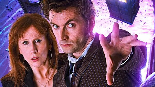 Catherine Tate and David Tennant in <em>Doctor Who</em> (Photo: BBC)