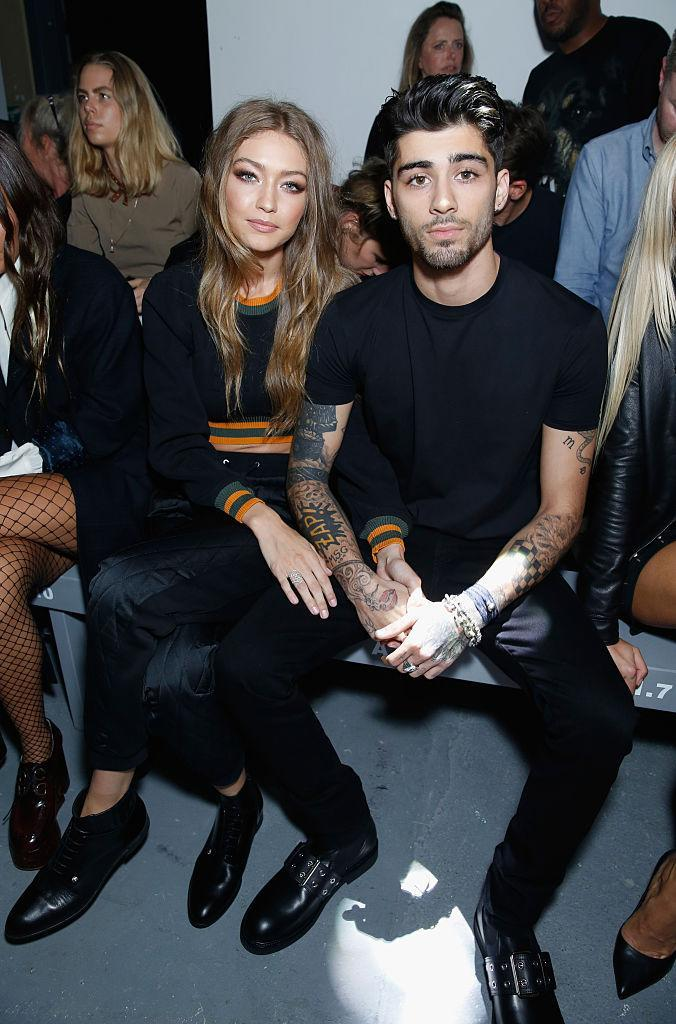 Pictured together at London Fashion Week in September 2016. (Getty Images)