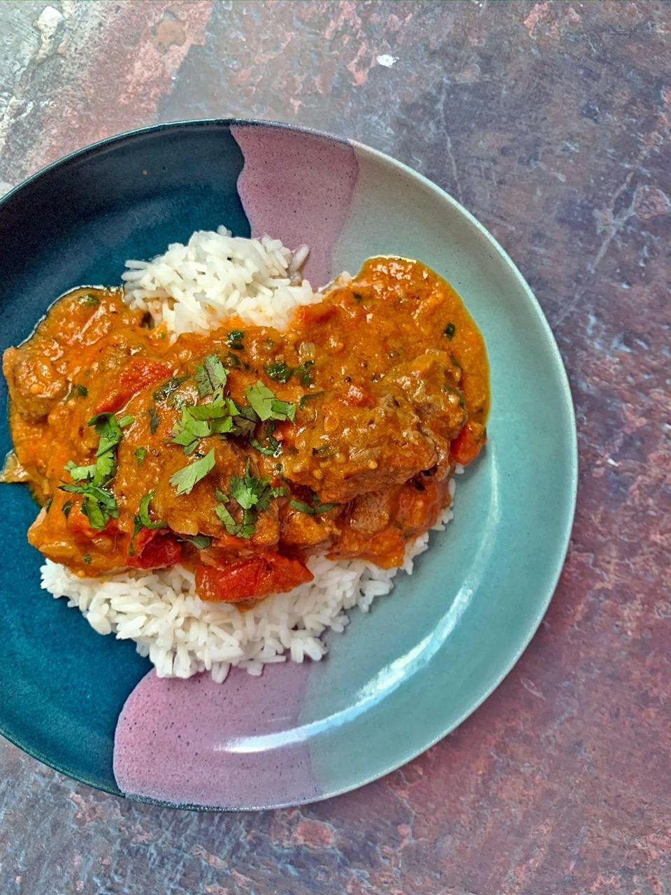 """<p>Lamb Karahi is one of our favourite <a href=""""https://www.delish.com/uk/cooking/recipes/g33455599/best-curry-recipes/"""" rel=""""nofollow noopener"""" target=""""_blank"""" data-ylk=""""slk:lamb curry"""" class=""""link rapid-noclick-resp"""">lamb curry</a> dishes, and we're telling you now, it is well worth the time and effort to make.</p><p>Get the <a href=""""https://www.delish.com/uk/cooking/recipes/a33642009/lamb-karahi/"""" rel=""""nofollow noopener"""" target=""""_blank"""" data-ylk=""""slk:Lamb Karahi"""" class=""""link rapid-noclick-resp"""">Lamb Karahi</a> recipe. </p>"""