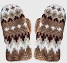 <p>Your fingers will stay extra warm in these <span>Crochet Bernie Mittens</span> ($25, originally $50).</p>