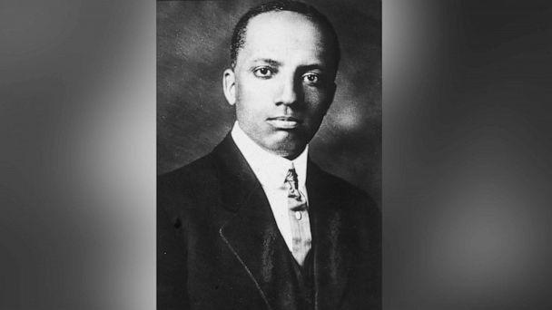 PHOTO: Portrait of American historian and educator Carter Godwin Woodson, circa 1910s. (Hulton Archive/Getty Images, FILE)