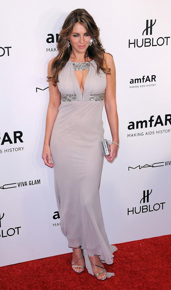 This is SO you, Liz Hurley. We feel we have to judge it on its own merits, therefore as a Liz-style dress it's perfect.