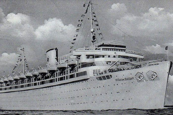 The MV Wilhelm Gustloff now lies 450m at the bottom of the Baltic Sea. Image: Getty