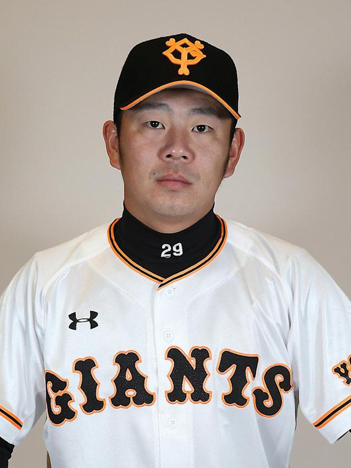 """This undated handout picture released from Japan's professional baseball team Yomiuri Giants shows Yomiuri Giants pitcher Satoshi Fukuda. Japan's pro baseball organisation said on November 10, 2015 it had suspended three pitchers indefinitely and fined the country's biggest team, the Yomiuri Giants, 10 million yen (800,000 USD) over a betting scandal. Nippon Professional Baseball (NPB) suspended Giants' pitchers Satoshi Fukuda, Shoki Kasahara and Ryuya Matsumoto for betting on games, which is illegal. They are reportedly the first such sanctions in 56 years. AFP PHOTO / YOMIURI GIANTS via JIJI PRESS---EDITORS NOTE---HANDOUT RESTRICTED TO EDITORIAL USE - MANDATORY CREDIT """"AFP PHOTO / YOMIURI GIANTS via JIJI PRESS"""" - NO MARKETING NO ADVERTISING CAMPAIGNS - DISTRIBUTED AS A SERVICE TO CLIENTS (AFP Photo/YOMIURI GIANTS)"""