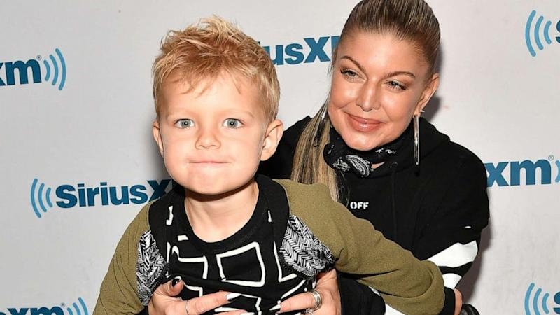 Fergie throws paradise island themed 6th birthday party for son Axl