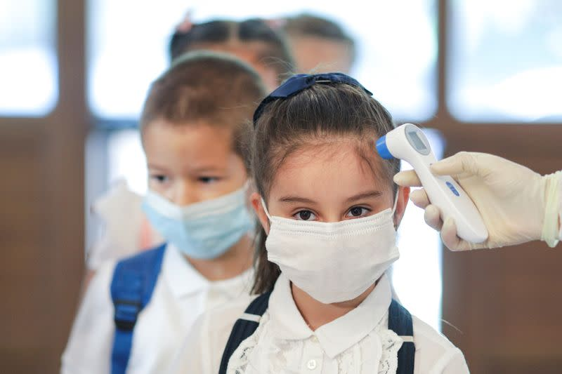 Romania reopens schools under strict rules as coronavirus cases rise