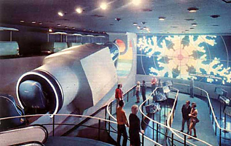<p>Sponsored by none other than the Monsanto Company, this attraction gave visitors a shrinking feeling decades before <i>Body Wars </i>premiered. Taking up residence in Tomorrowland in 1967, <i>Inner Space </i>simulated the experience of hitching a ride through an atom, complete with a bumpy trip through a field of electrons. Those electrons became Endor when the original <i>Star Tours </i>moved into <i>Inner Space</i>'s territory in 1987. <i>(Photo: Wikipedia)</i></p>