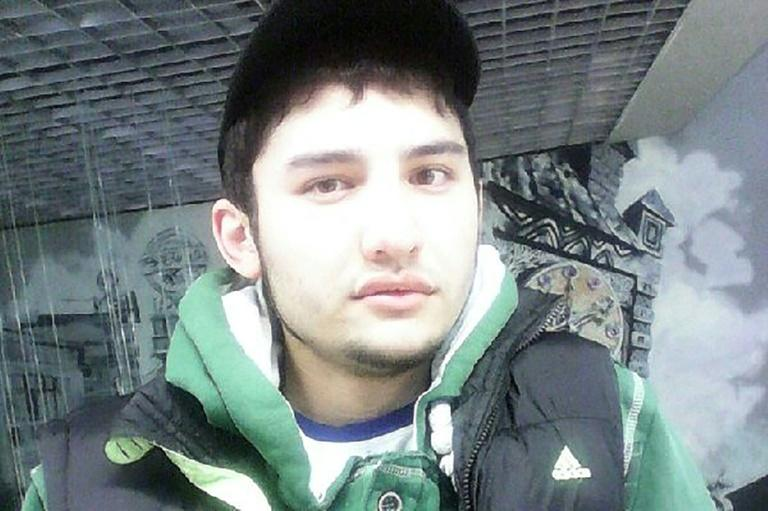 An image sourced by a Russia's VK.com social network shows Akbarjon Djalilov, who was identified as the suicide bomber responsible for the Saint Petersburg metro blast