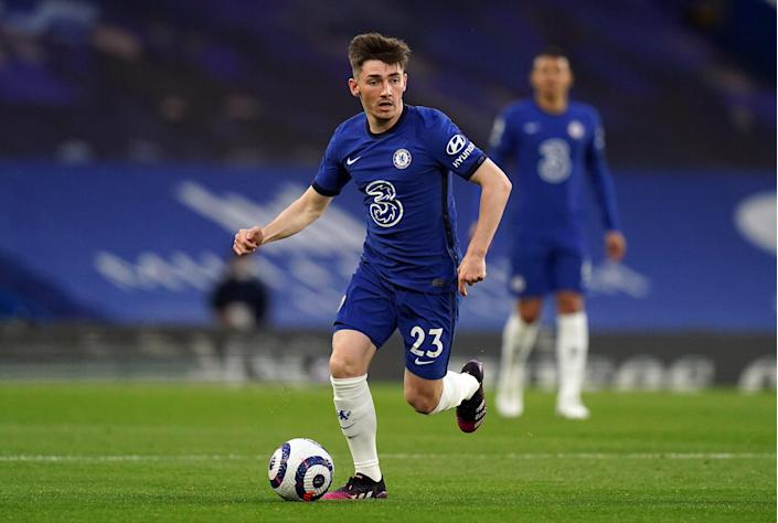 Billy Gilmour has been included by Scotland (PA Wire)