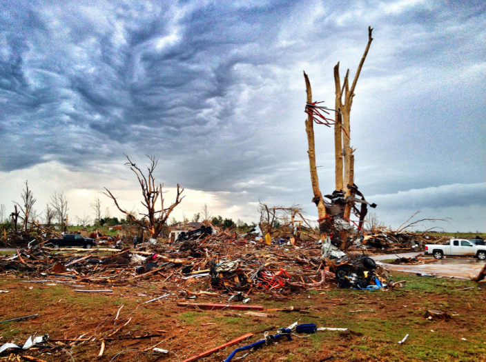 """149th and May in Oklahoma City, Okla. (Holly Bailey/ Yahoo! News)<br> <br> See more photos on <a href=""""http://www.flickr.com/groups/yahoo-break-news/pool/with/8774474632/#photo_8774474632"""" rel=""""nofollow noopener"""" target=""""_blank"""" data-ylk=""""slk:Flickr."""" class=""""link rapid-noclick-resp""""> Flickr.</a>"""