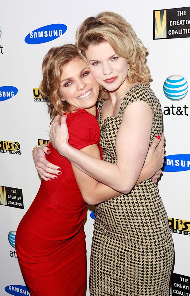 AnnaLynne McCord and Angel McCord are seen out and about during the 2012 Sundance Film Festival in Park City, Utah on January 22, 2012.